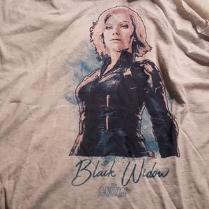 Marvel Woman's Black Widow Tank Top Sz. XXL NWOT